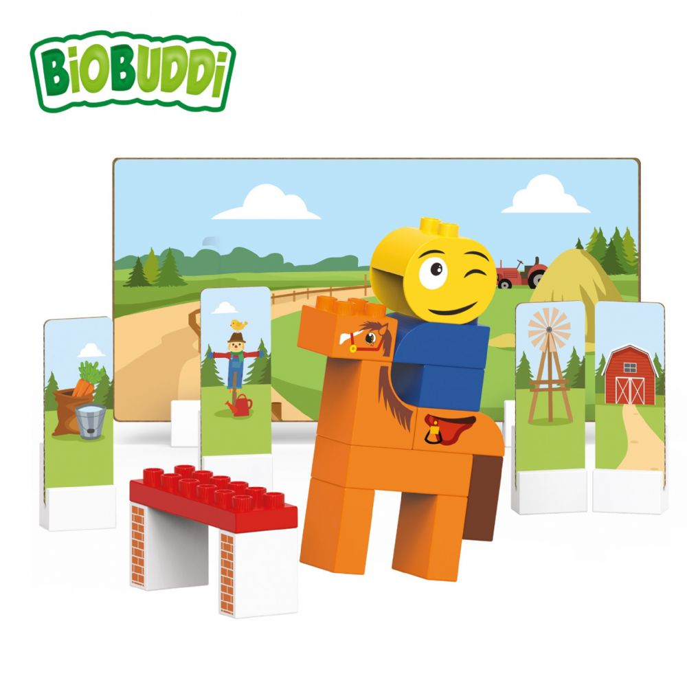 BiOBUDDi - Riding School - 28 Blocks